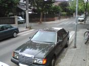 MERCEDES-BENZ E 300 turbo diesel averiado.