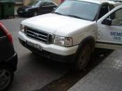 FORD RANGER averiado.
