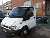 FORD TRANSIT averiado.