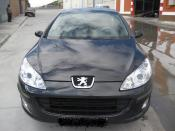 PEUGEOT 407 averiado. FRONTAL