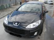 PEUGEOT 407 averiado. FRONTAL-LATERAL