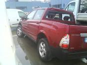 SSANG YONG ACTYON SPORTS PICK UP siniestrado.